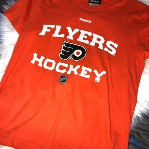 Reebok Boys flyers hockey Tshirts
